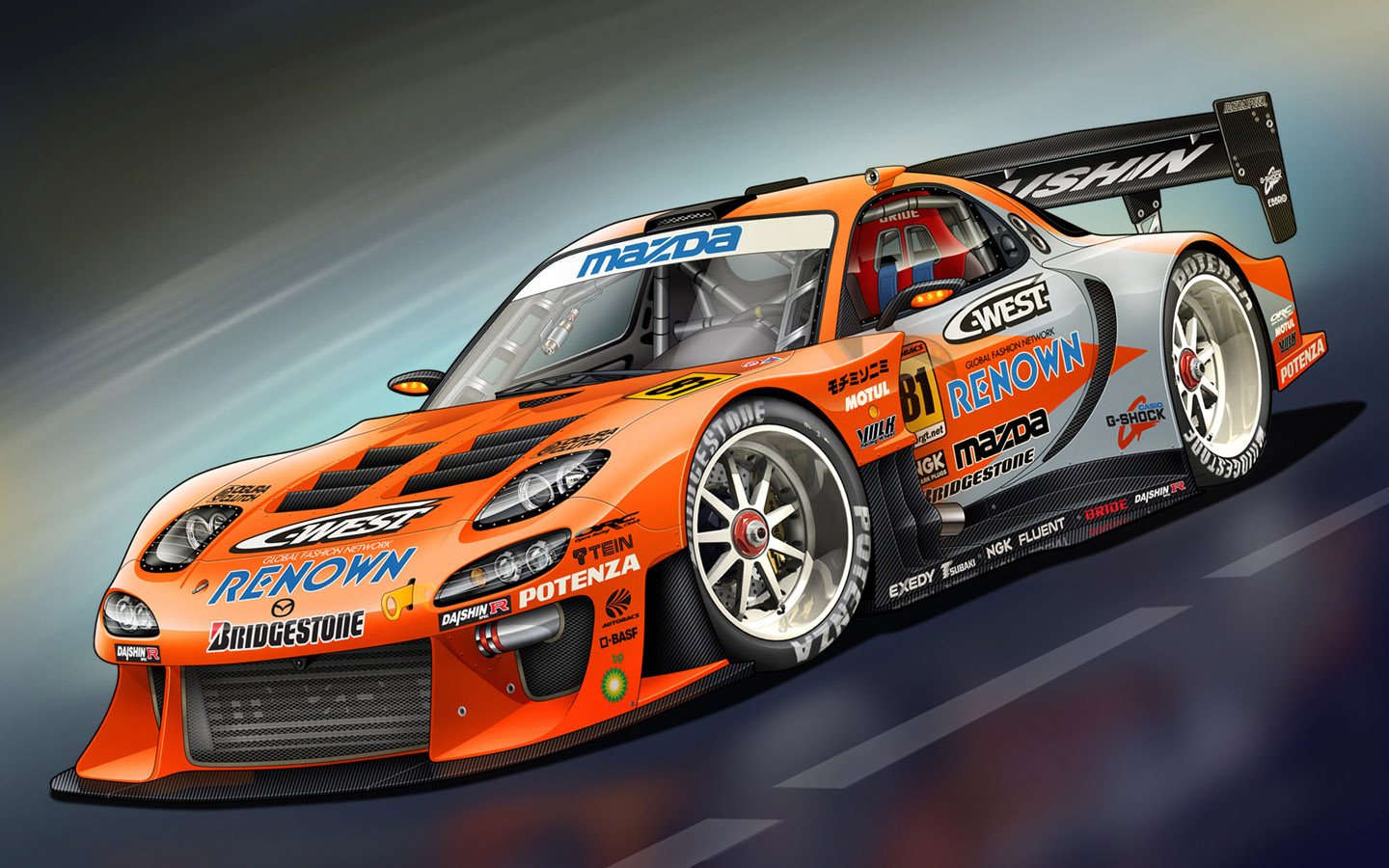 Super Race Car - Digital Car Design 1440*900 NO.16 Wallpaper