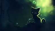 Heart-touching Cuties and Kittens : Speed Painting by Apofiss25 pics