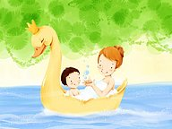 Children's illustration of Mother's Day and Family Love21 pics