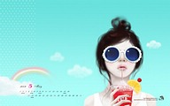 2009 Calendar Wallpapers - Stylish Art Illustrations25 pics