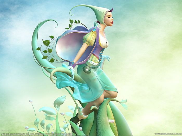 21cn wallpaper. Fantasy CG Girls Wallpapers by World Class CG Artists ( Vol.4 ) - The