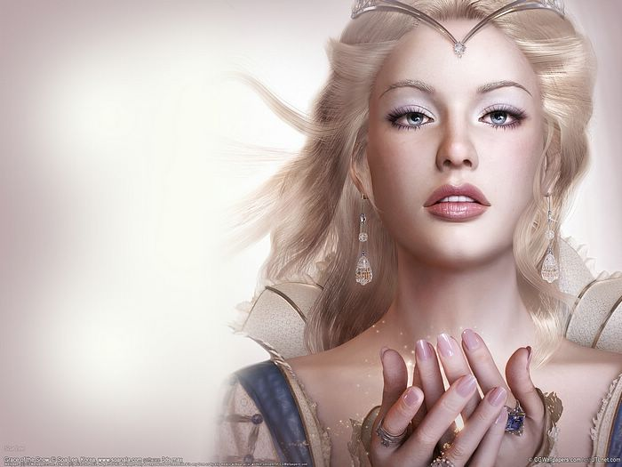 widescreen wallpapers girls. Fantasy CG Girls Wallpapers by