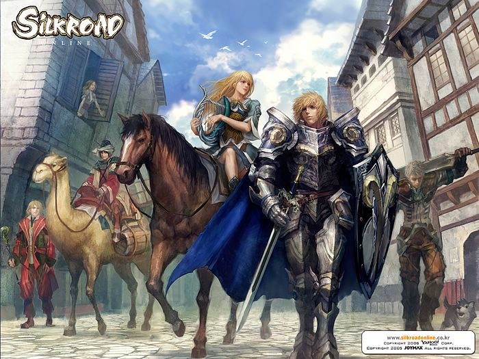 wallpaper game online. silkroad online Game CG