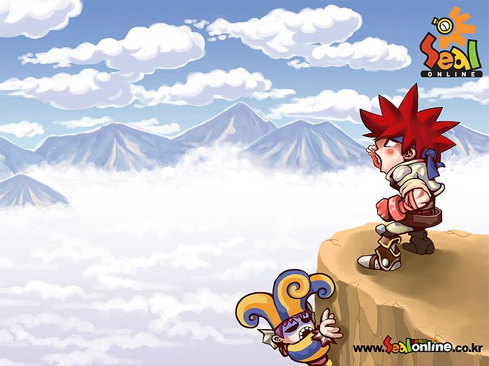 wallpaper cartoon korean. Game Cartoon Wallpaper