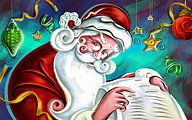 Christmas Art Illustration - Digital Christmas Artwork40 pics