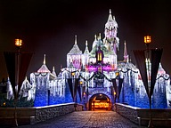 Christmas Night at Disneyland
