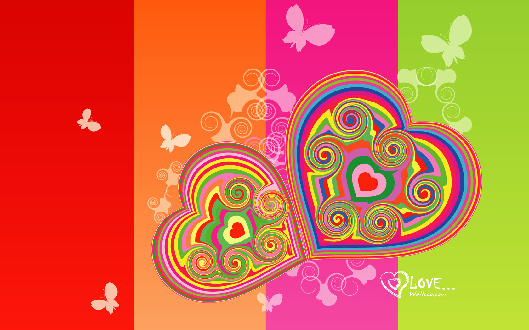 holiday hearts wallpaper vector - photo #30
