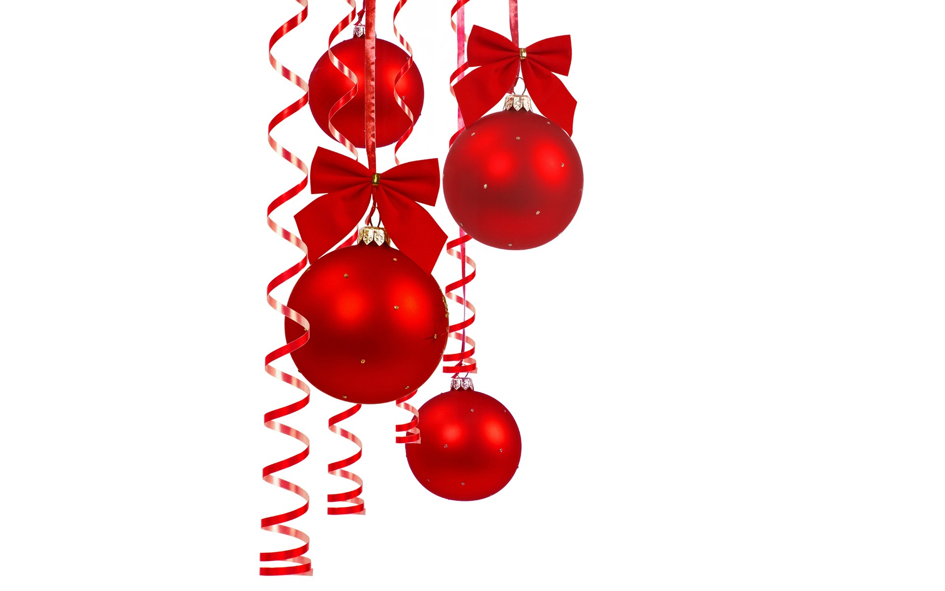 Christmas tree ball decorations clipart