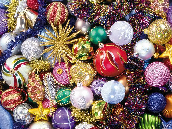 Ball Balls Decorations Alluring Colourful Christmas Decorations  My Web Value Inspiration Design