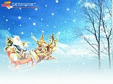 digital composite Christmas wallpapers36 pics
