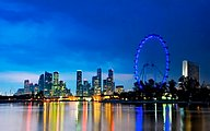 Singapore Flyer Ferris Wheel8 pics