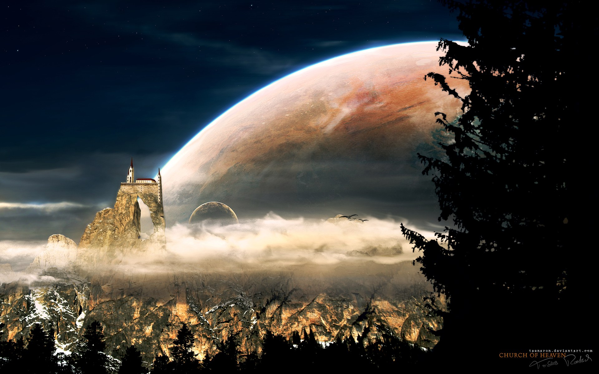 Fantasy landscape wallpapers 1920*1200 no.9 wallpaper