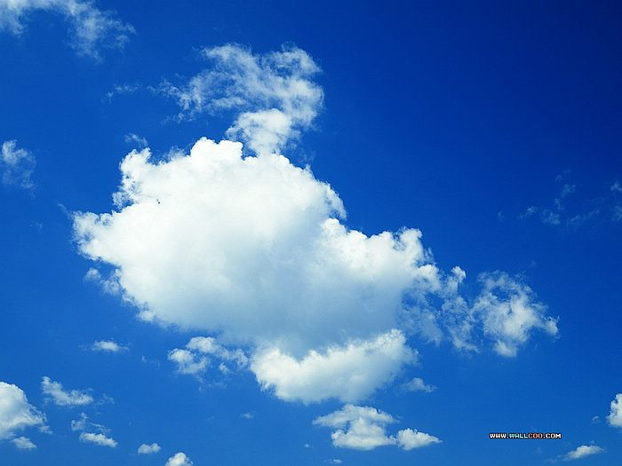 clear blue sky with clouds wallpaper wwwimgkidcom