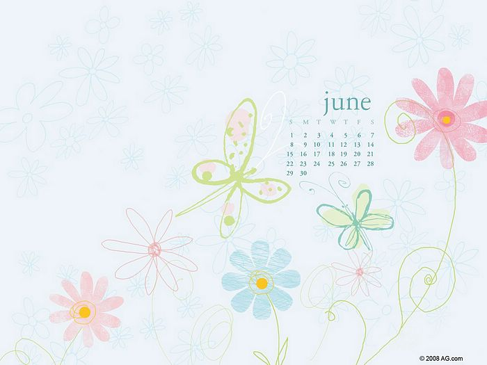 wallpaper calendar. June 2008 Calendar Wallpapers