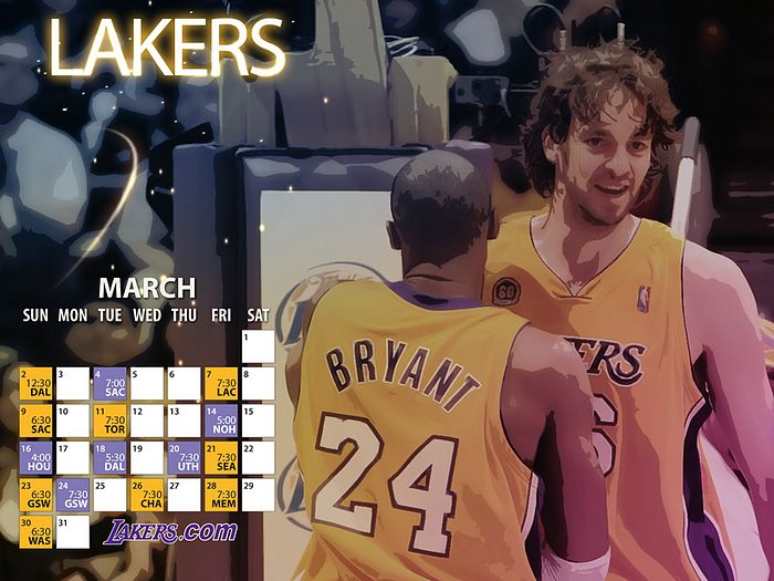 lakers wallpapers. Angeles Lakers Wallpapers