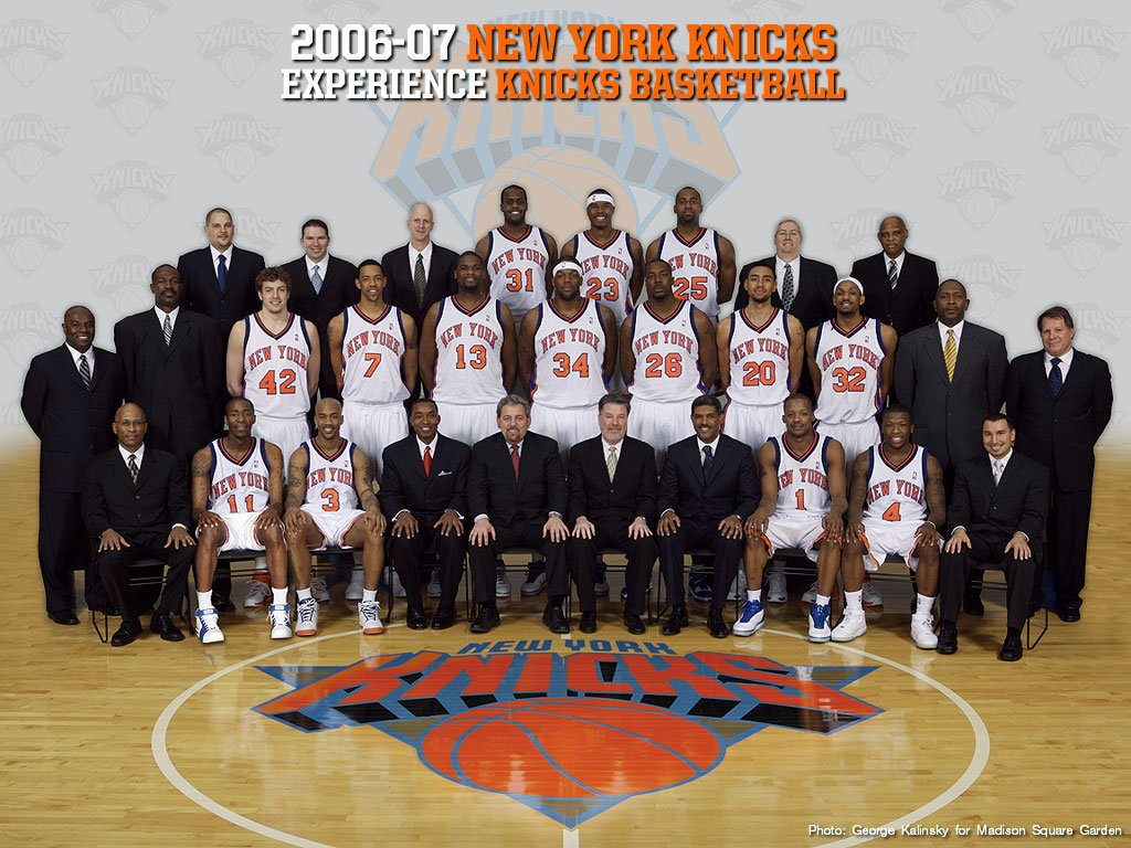 NBA Basketball: New York Knicks Wallpapers 1024*768 NO.10 Wallpaper