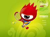Sina Cartoons and Schedules of Beijing Olympic Games14 pics